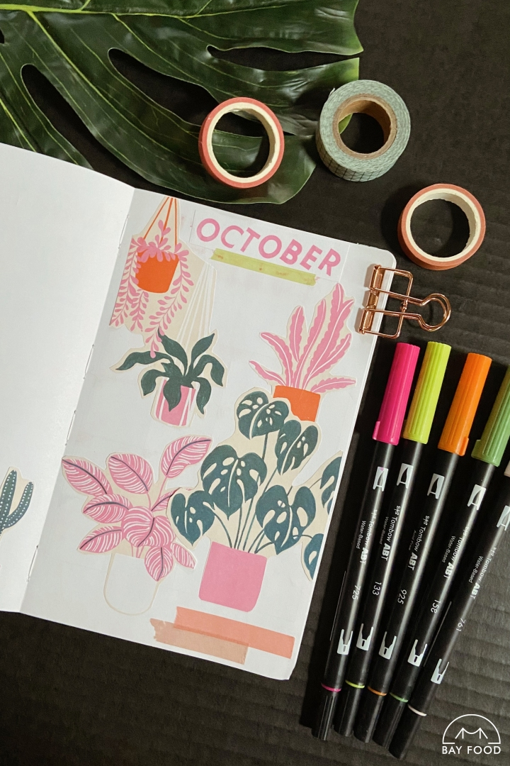 12 easy, aesthetic bullet journal themes to recreate in your notebook